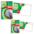 Golf Tournament Postcard Design