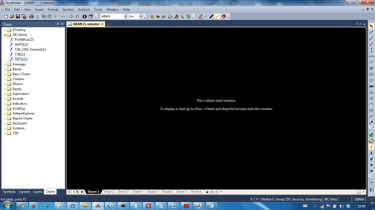 Amibroker Blank Screen