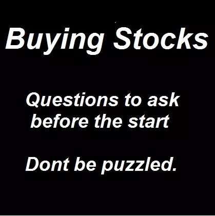 stock buying tips steps