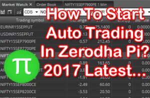 Auto Trading In Zerodha Pi