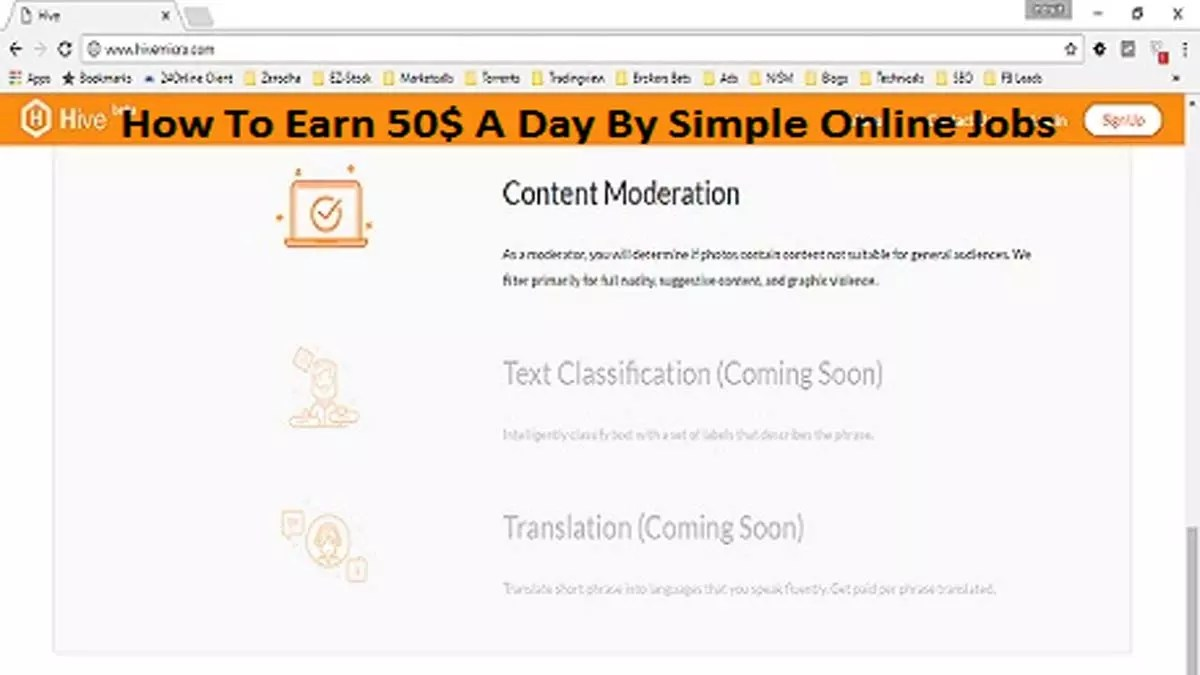 How To Earn 50$ A Day By Simple Online Jobs
