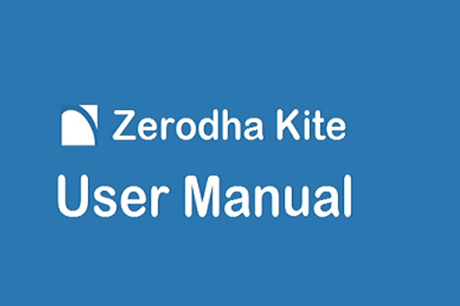 Zerodha kite user manual