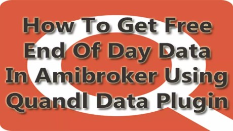 Quandl-Download Free Amibroker End Of Day Data