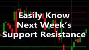 Next Weeks Support Resistance