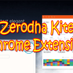 Zerodha Kite Extension