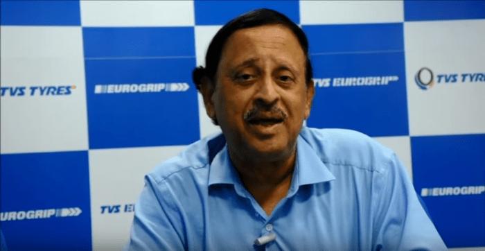P Vijayraghavan Director TVS Srichakra 1