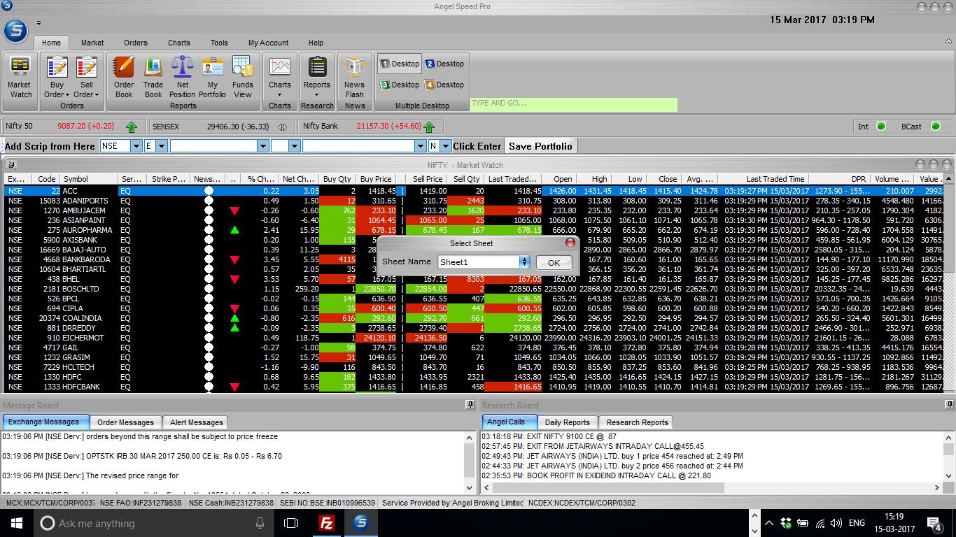 Speed Pro Select Sheet