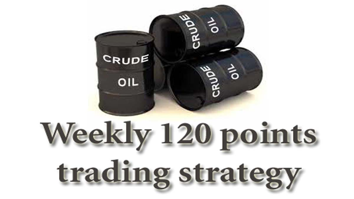 Get Weekly 120 Points Using Crude Oil Live Chart