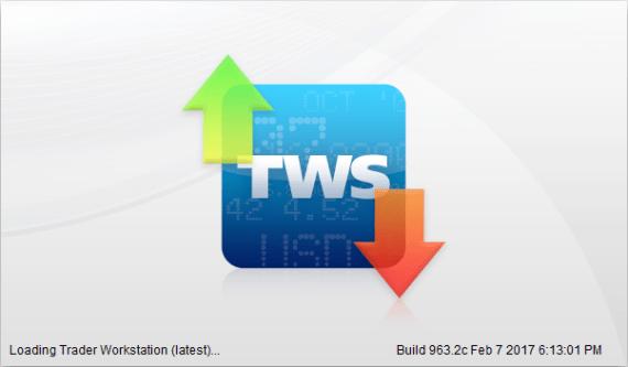 Load Interactive Brokers TWS