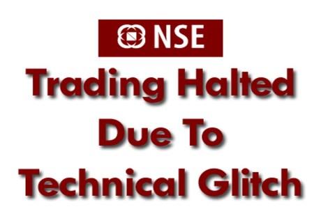 NSE India Technical Glitch
