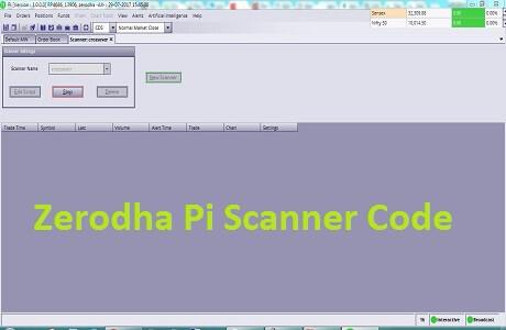 zerodha pi scanner code