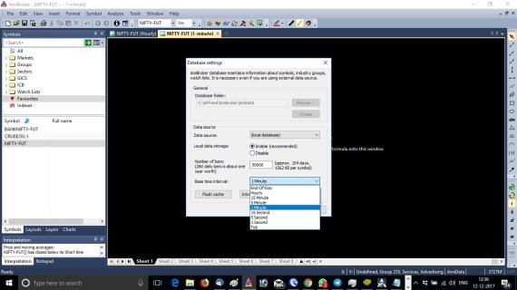 Amibroker Database Setup