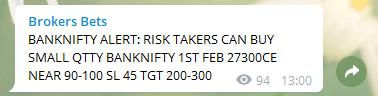 Bank Nifty Options Trading