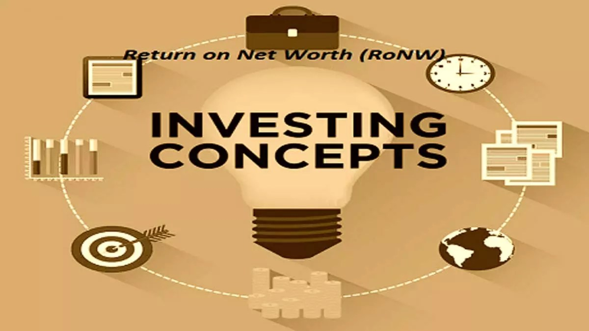 What Is Return on Net Worth Ratio (RoNW)?