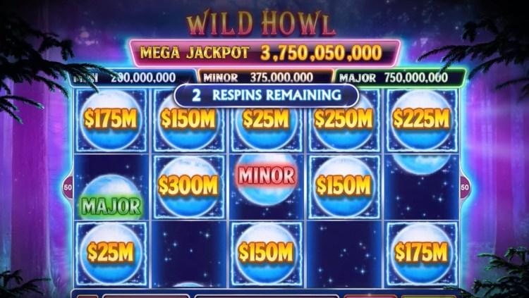 Wild Howl Slot Machine Caesars Games