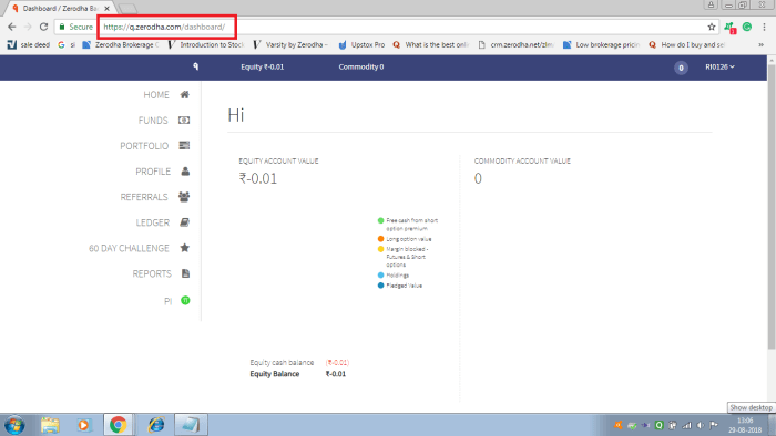q zerodha backoffice