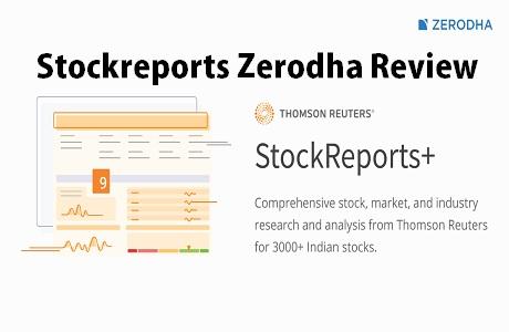 Stockreports Zerodha Review 2
