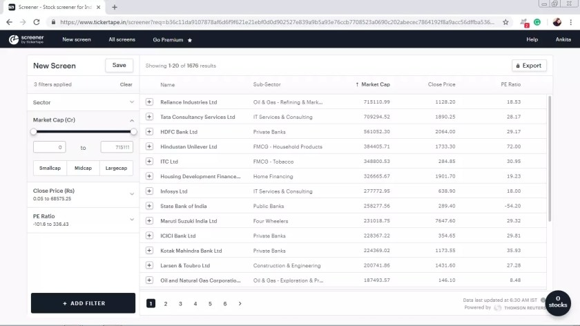 zerodha smallcase screener review