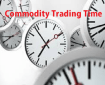 Commodity Trading Time