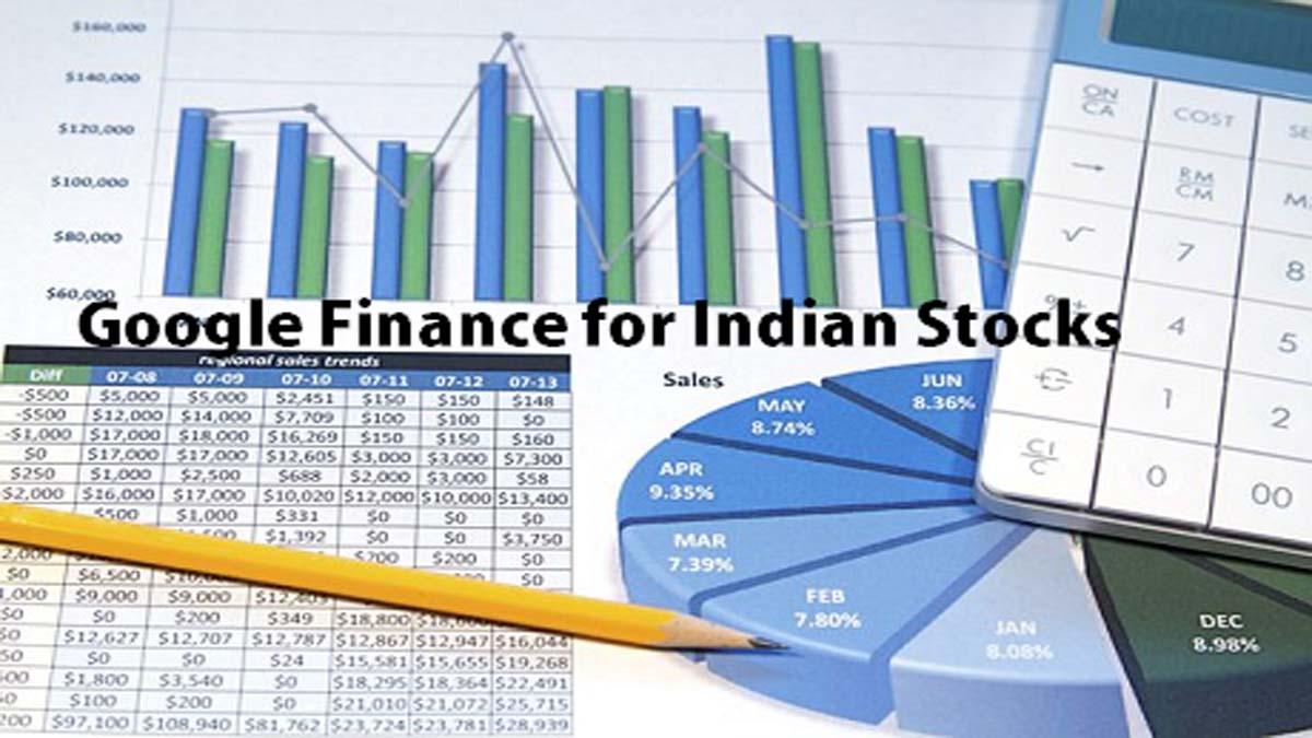 Basic Tutorial of Google Finance for Indian Stocks