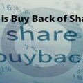 What is Buy Back of Shares in India