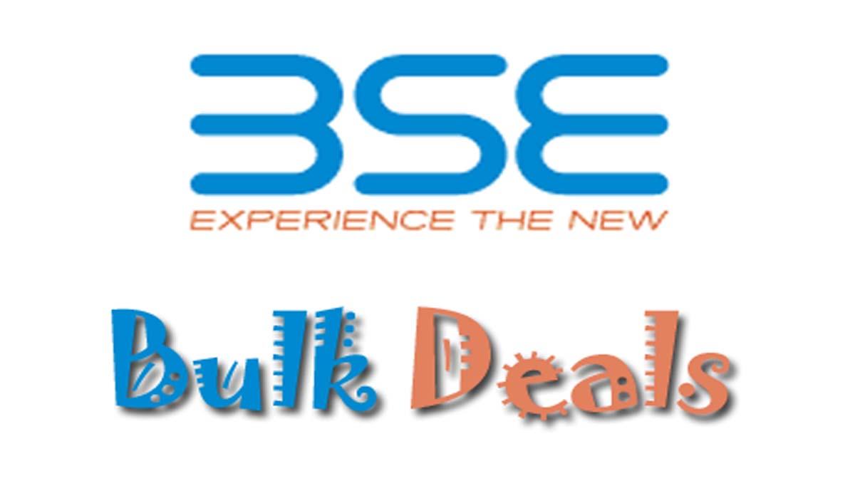 BSE Bulk Deals