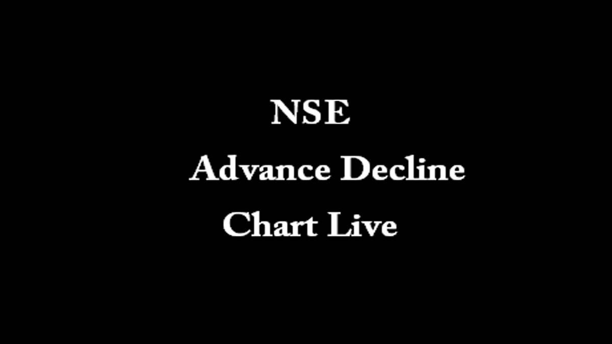 NSE Advance Decline Chart Live