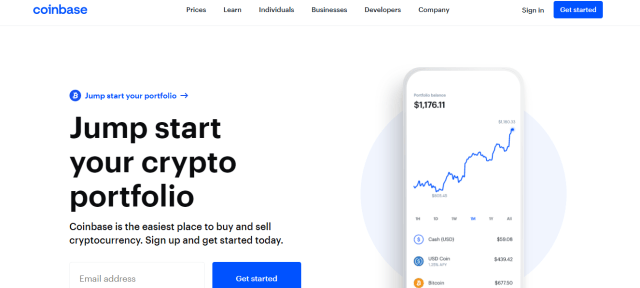 Coinbase renowned among bitcoin exchanges in India