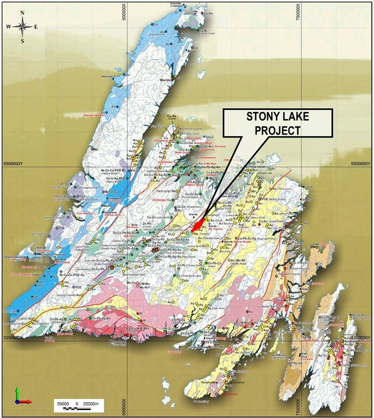 "K9 Gold Corp.'s Stony Lake Project Ideally Positioned for Success in Central Newfoundland's ""Gold Belt"""