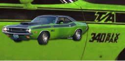 Dodge Challenger T/A Stripe