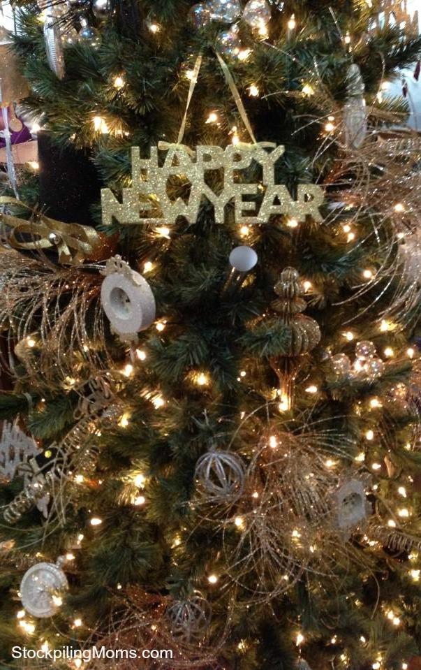 Happy New Year Tree