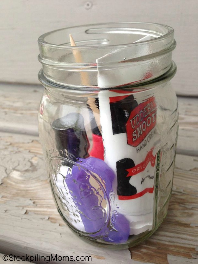 This Manicure Jar Gift Idea