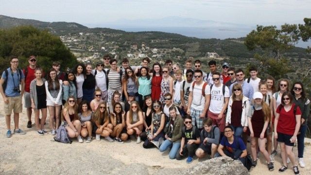 Classics trip to Greece in 2016