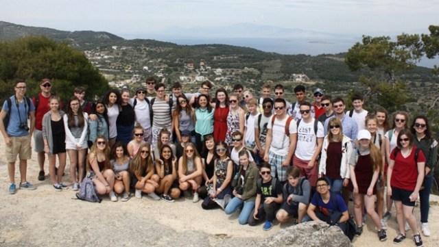 Classics trip to Greece in 2016