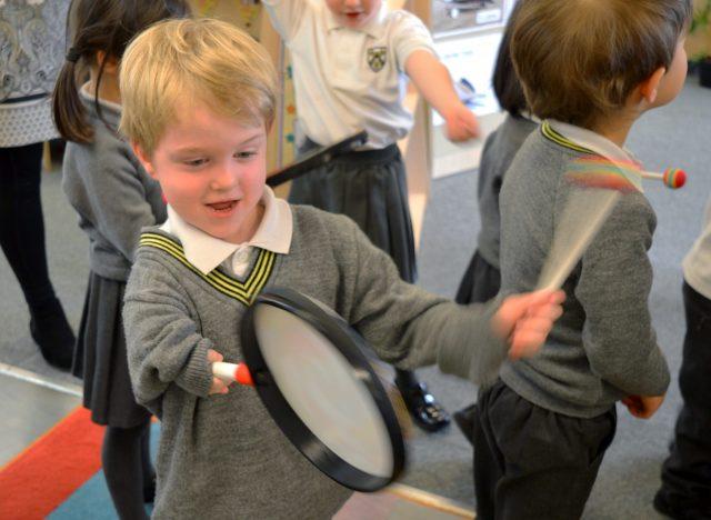 Pre-Reception Music classes