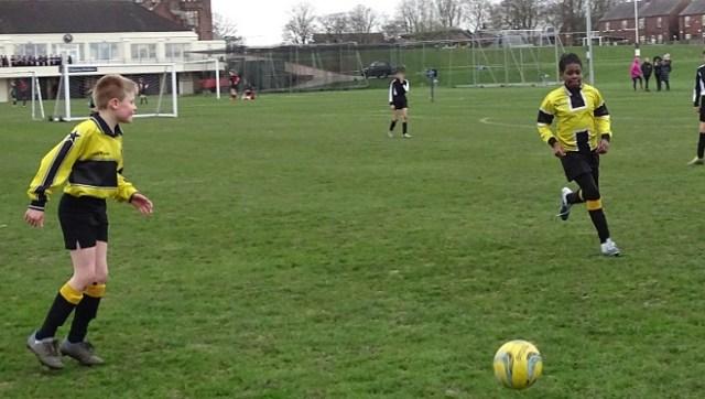 Junior School Football team at Bolton School