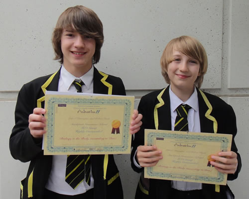 Highly commended Animation 11 competition pupils