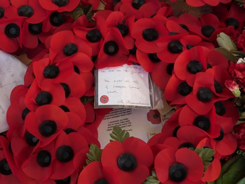 School wreath at Ypres