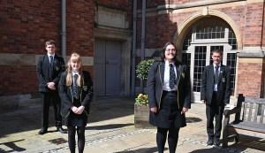 Students celebrate university offers