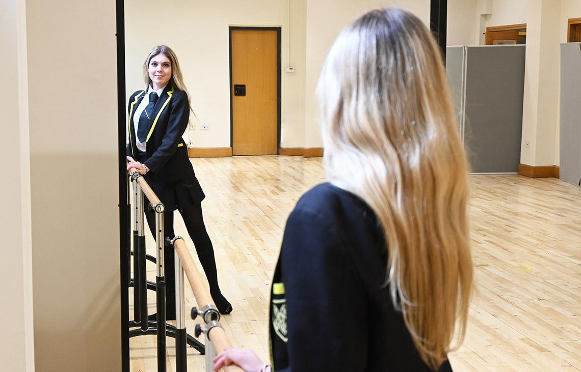 Dancer in the Exhibition Room