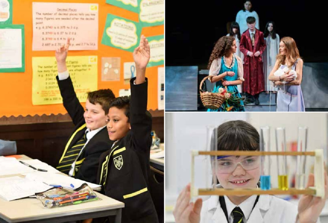 A range of lessons at SGS