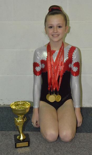Lily Hallsworth - Senior Novice Champion