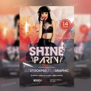 shine-party-free-psd-flyer-template-768x768