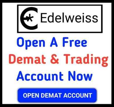 Edelweiss demat account open