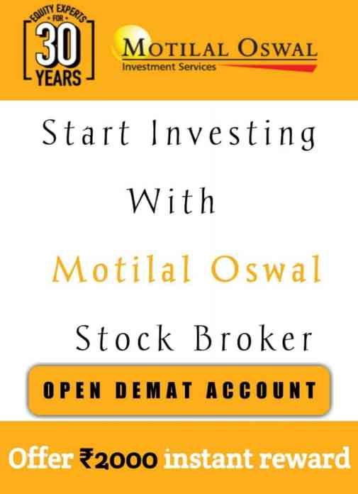 Open Demat and Trading Account With MOSL