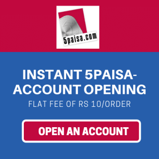 open 5paisa demat account