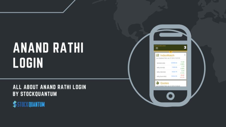 Anand Rathi Login