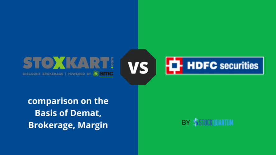 Stoxkart VS HDFC Securities compare
