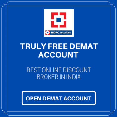 HDFC Securities Blink Demat Account