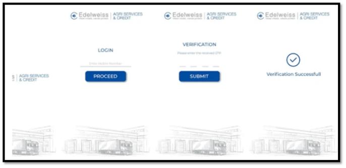 Edelweiss Saarthi App Screen